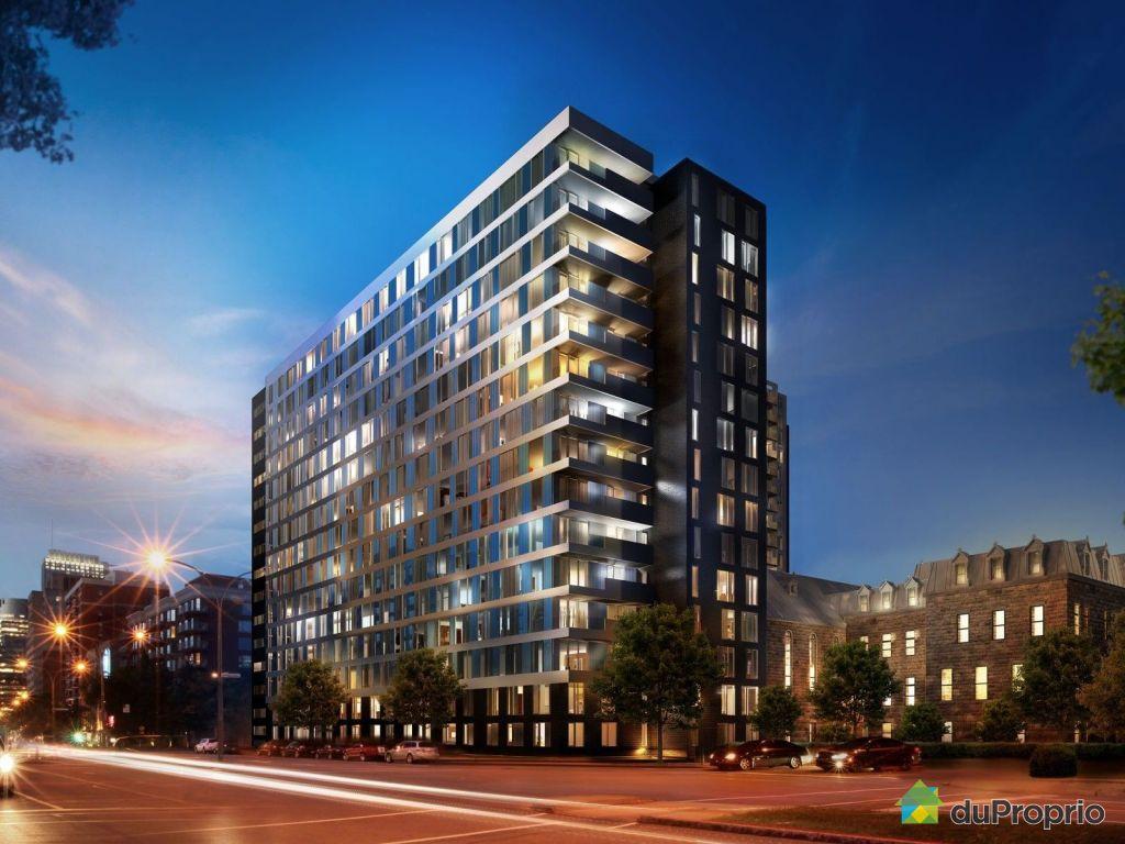 Condo neuf vendu montr al immobilier qu bec duproprio for Achat maison montreal canada