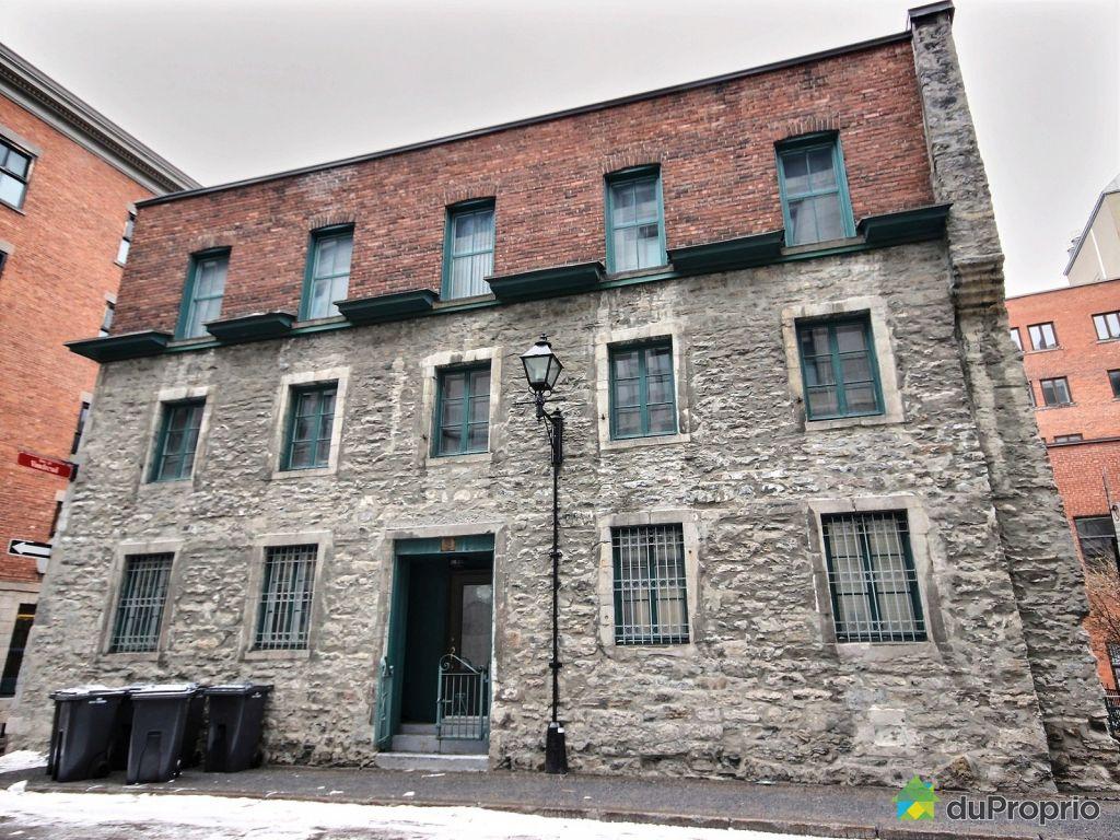 Condo vendu montr al immobilier qu bec duproprio 518744 for Achat maison montreal canada