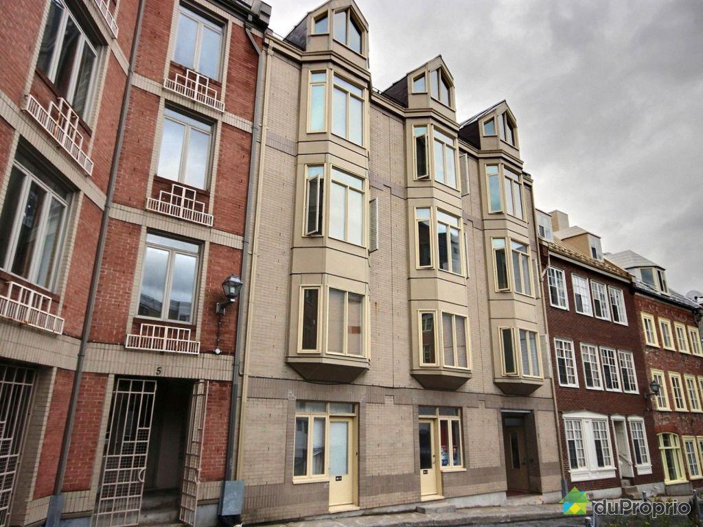 Condo vendre vieux port 124 7 ruelle de l 39 ancien - Appartement a louer vieux port montreal ...