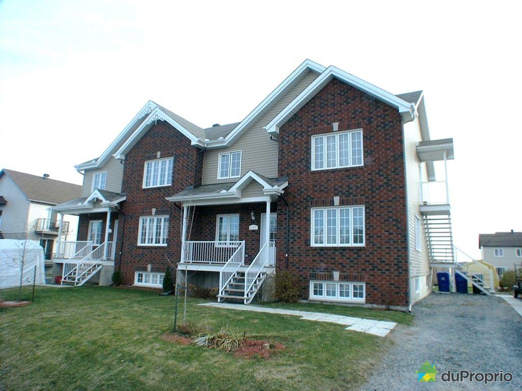 Duplex vendu masson angers immobilier qu bec duproprio 294357 - Loft a vendre angers ...