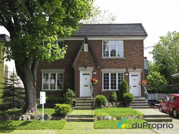 Duplex vendu montr al immobilier qu bec duproprio 132817 for Acheter une maison a montreal