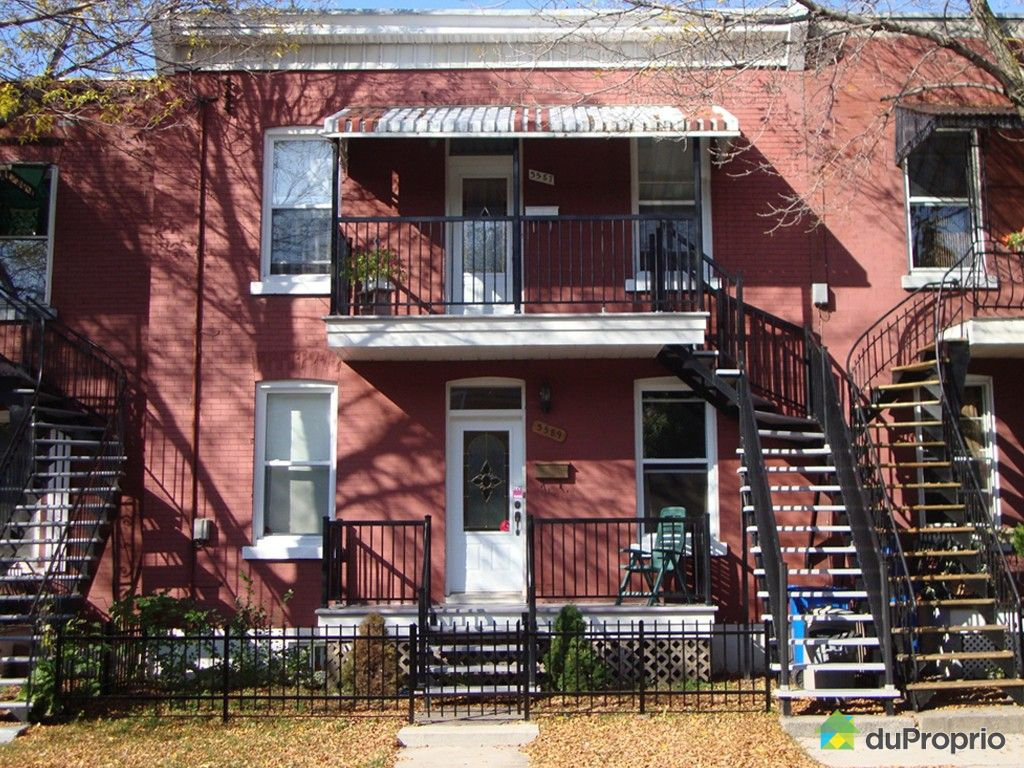 Duplex vendu montr al immobilier qu bec duproprio 388052 for Fenetre verdun montreal