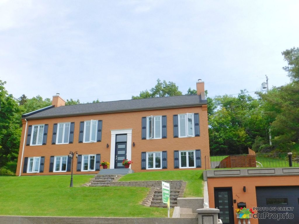 Maison vendre montmagny 222 11e rue immobilier qu bec for Achat maison montmagny