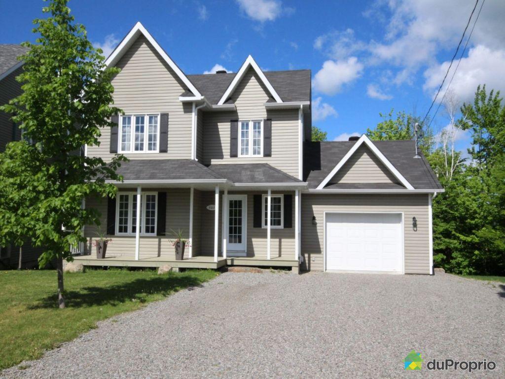Maison vendre pr vost 522 rue du clos chaumont immobilier qu bec duprop - Combien coute une facade de maison ...