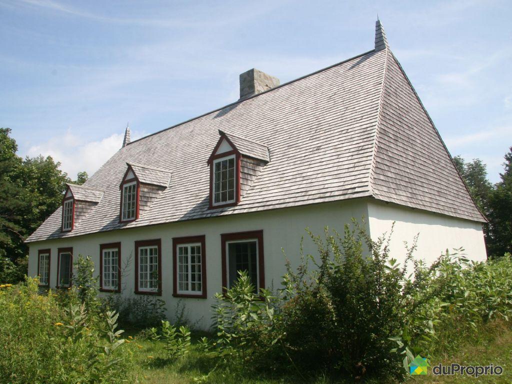 Maison vendre beaumont 193 route du fleuve immobilier for Achat de maison quebec