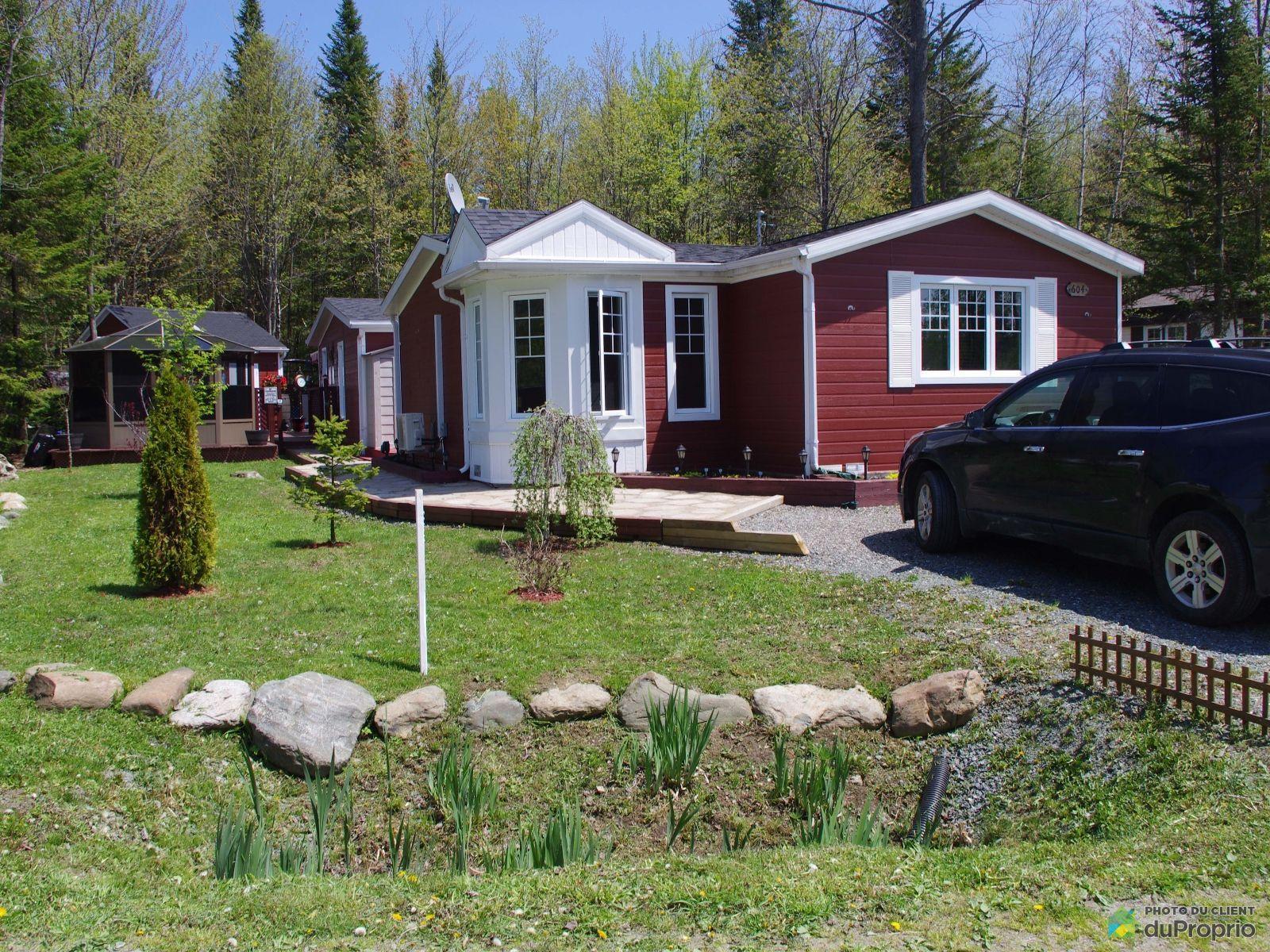 Maison mobile vendre domaine parc estrie for Fabricant maison mobile