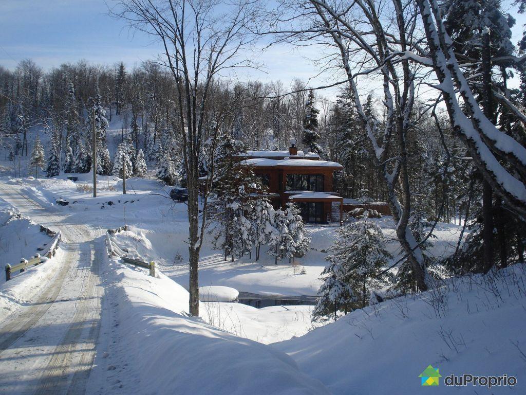 Chalet vendre ste agathe des monts 1031 chemin bor al Chalet boreal charlevoix