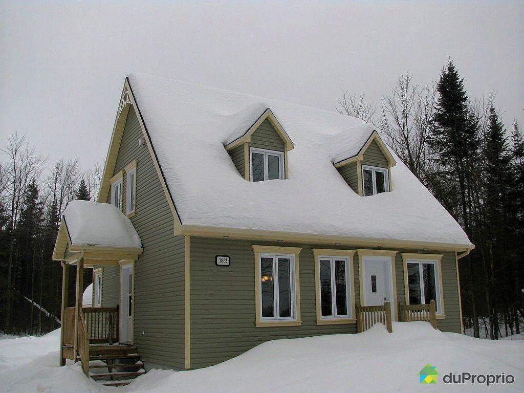 Maison neuve vendu st raymond immobilier qu bec duproprio 311947 - Vendre sa maison a un promoteur ...
