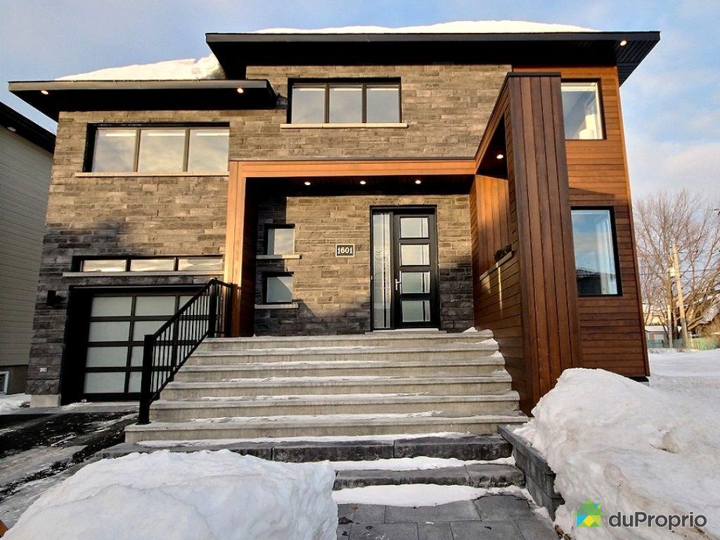 Maison vendu chambly immobilier qu bec duproprio 482881 for Maison moderne qc