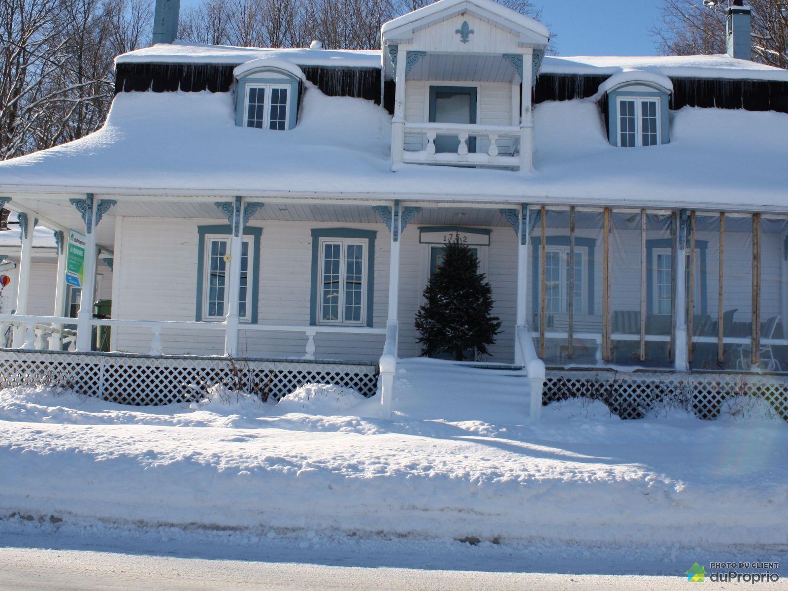 Maison vendre inverness 1752 rue dublin immobilier qu bec duproprio 276066 - Temperature ideale maison hiver ...