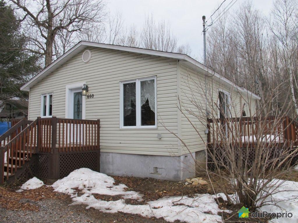 Maisons a vendre lac des ecorces proprietes etangs a for Acheter une maison au canada quebec
