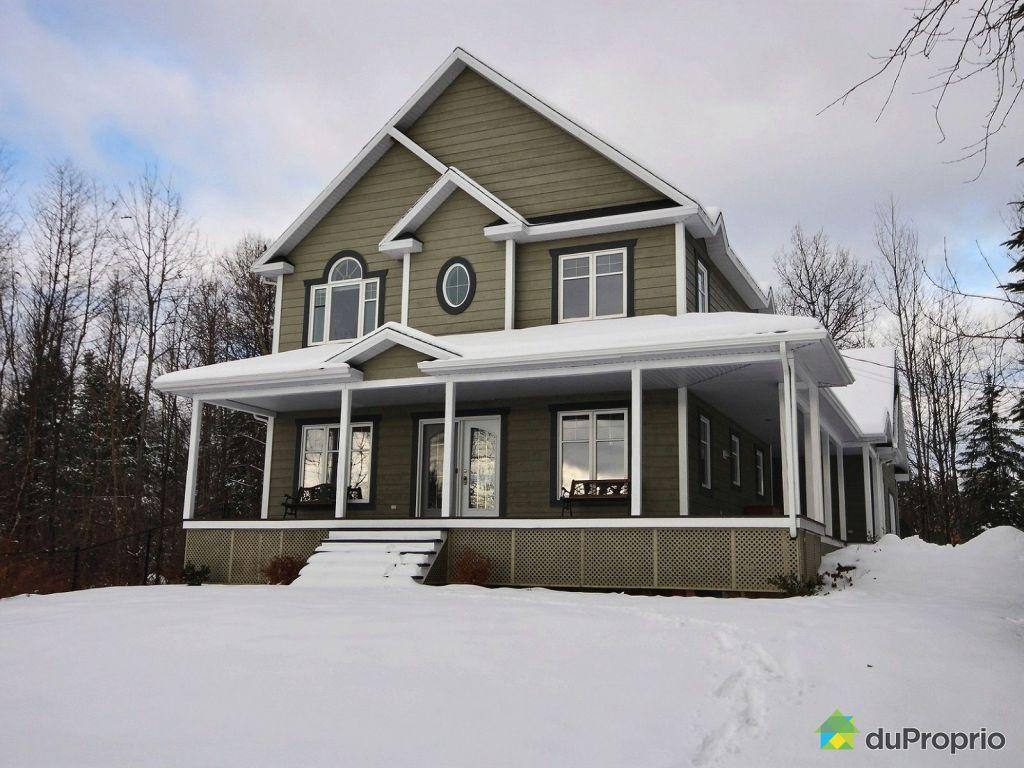 maison a vendre a lac st charles proprietes etangs a. Black Bedroom Furniture Sets. Home Design Ideas