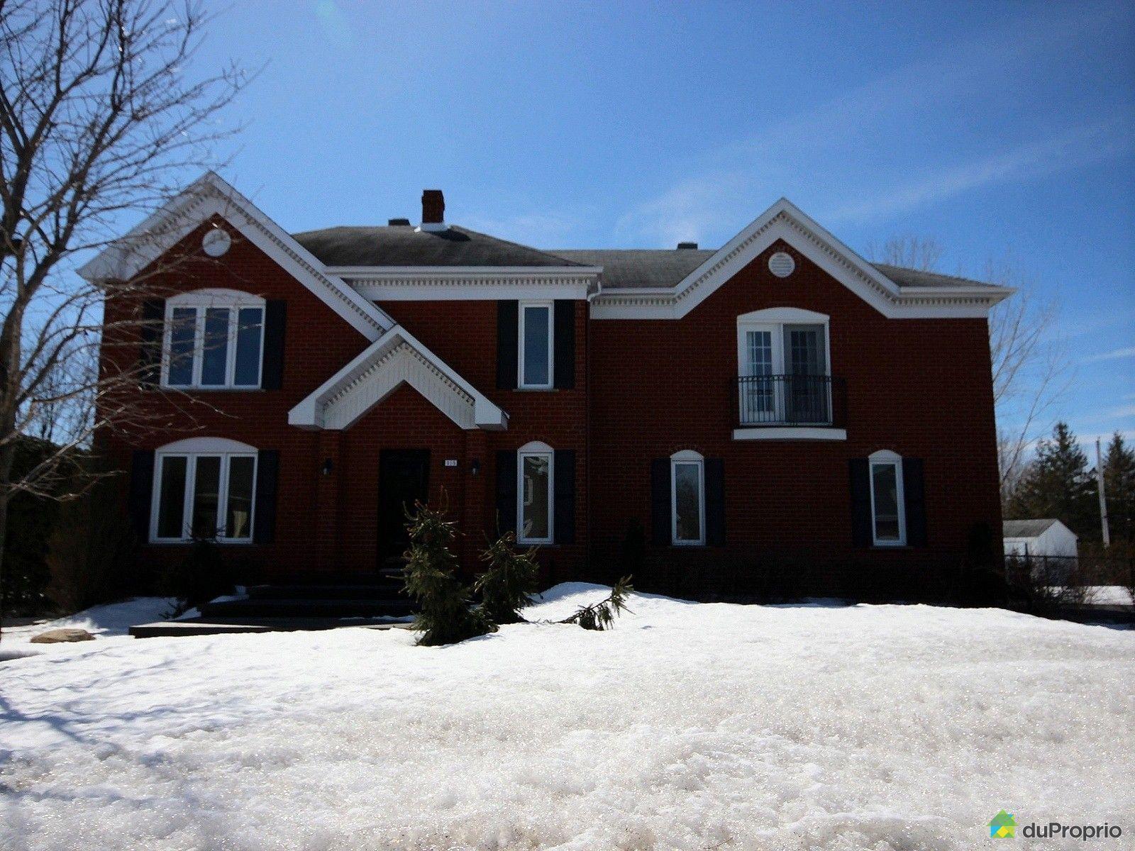 maison vendu mont st gregoire immobilier qu 233 bec duproprio 597107