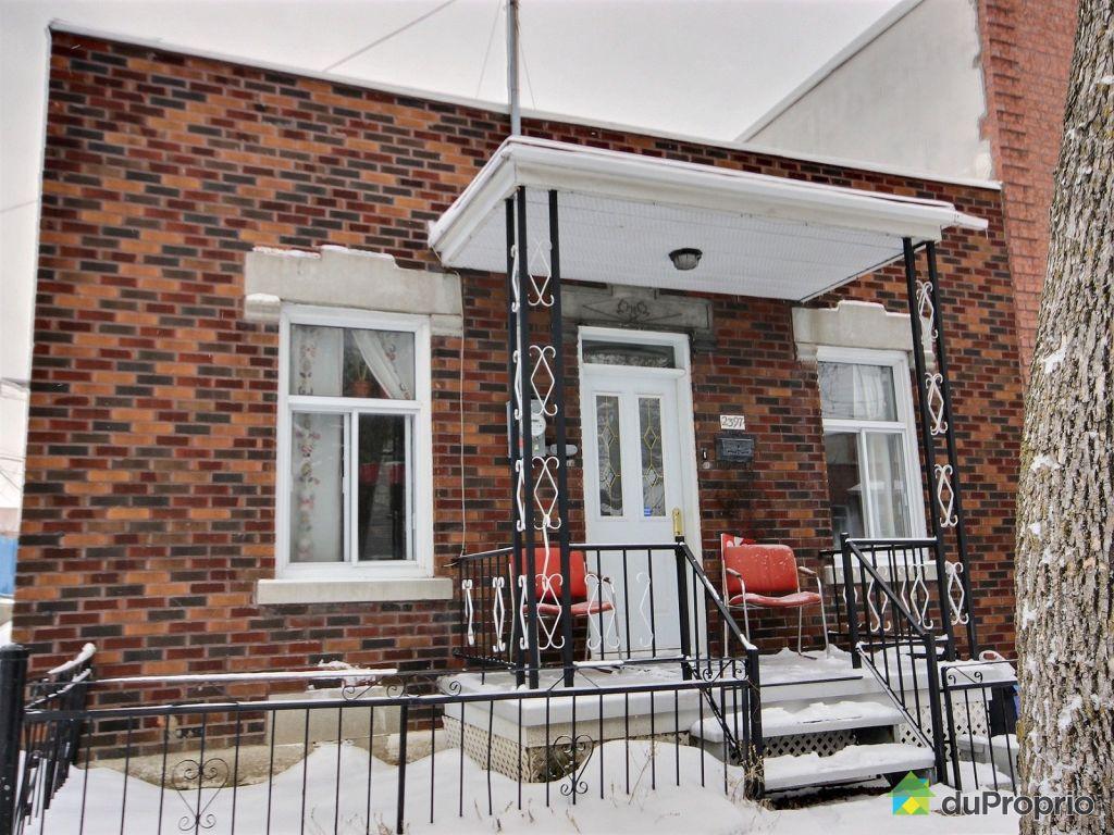 Maison vendu montr al immobilier qu bec duproprio 689717 for Achat de maison quebec