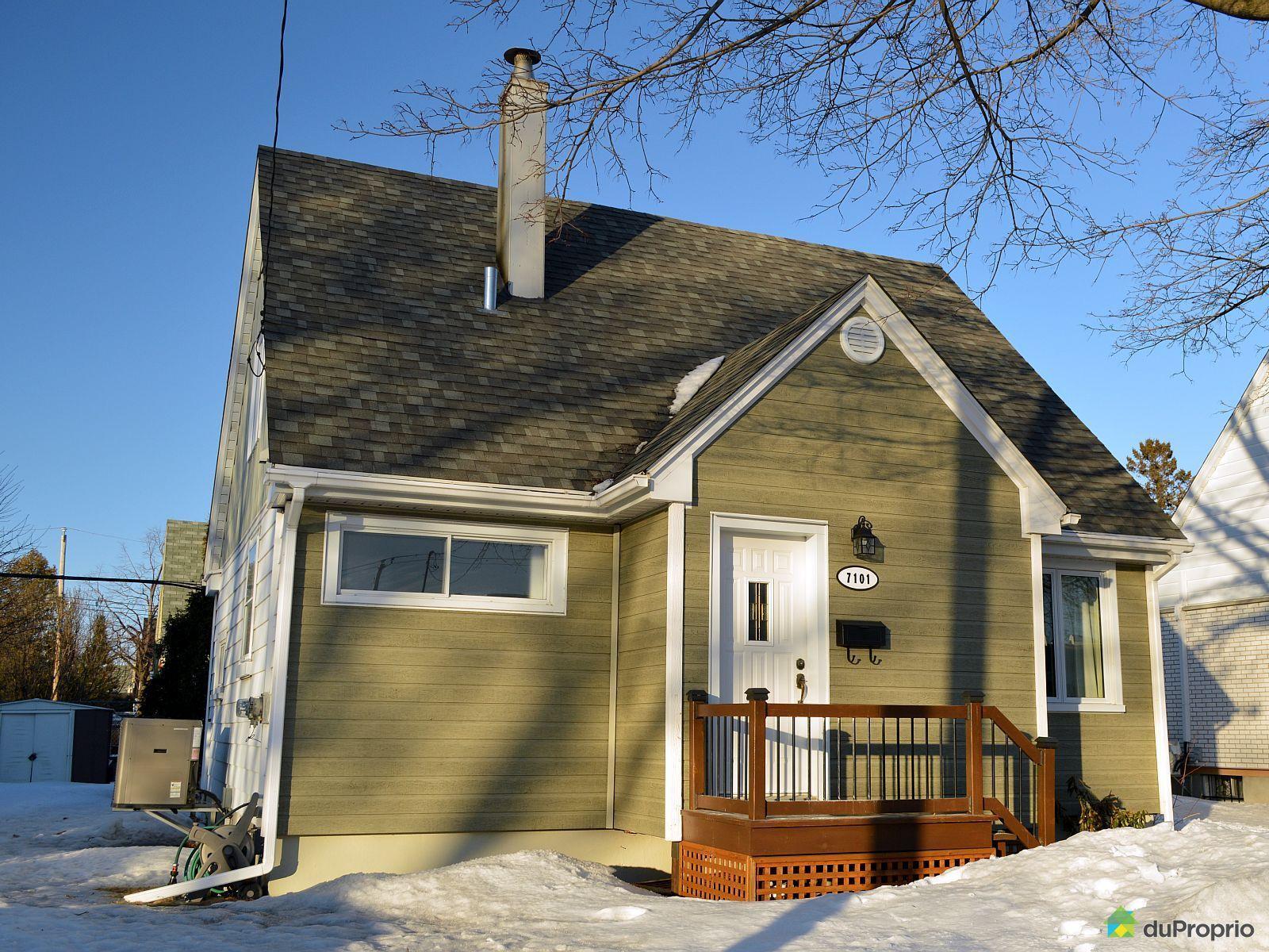 Maison vendu montr al immobilier qu bec duproprio 492683 for Extension maison quebec