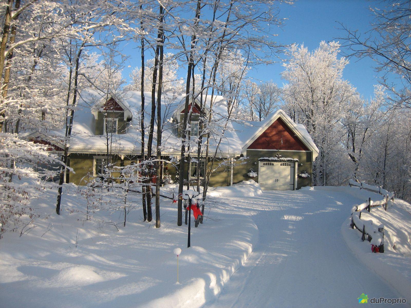 Maison vendu ste catherine de hatley immobilier qu bec duproprio 572736 - Temperature maison hiver ...