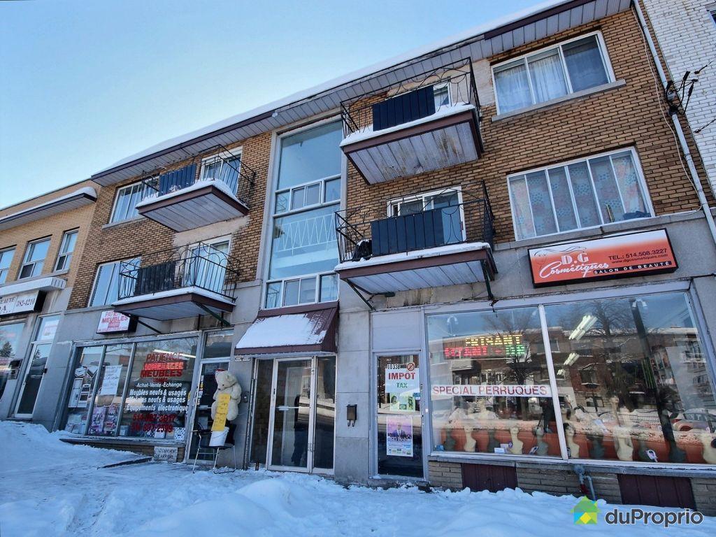 Immeuble revenu logement vendu montr al immobilier for Achat maison montreal canada