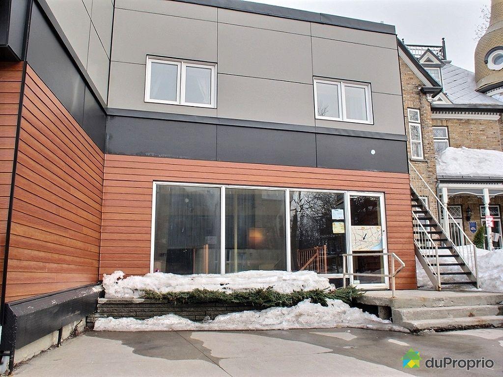 Immeuble commercial vendu limoilou immobilier qu bec duproprio 509107 - Facade local commercial ...