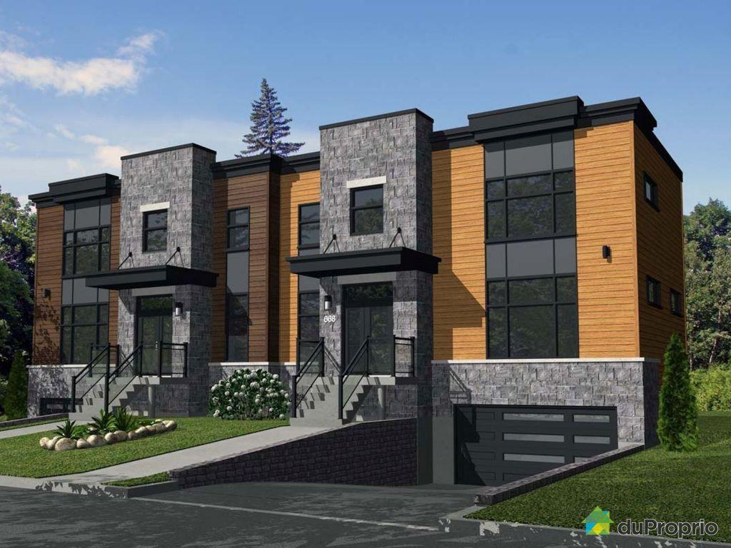 jumel neuf vendre ste foy rue de grenoble immobilier qu bec duproprio 615426. Black Bedroom Furniture Sets. Home Design Ideas