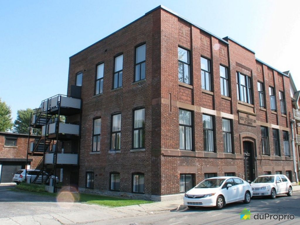 Loft vendu montr al immobilier qu bec duproprio 279623 for Domon lachine qc
