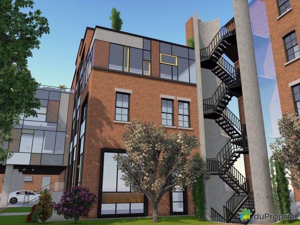 Loft vendu montr al immobilier qu bec duproprio 585802 for Immobilier loft