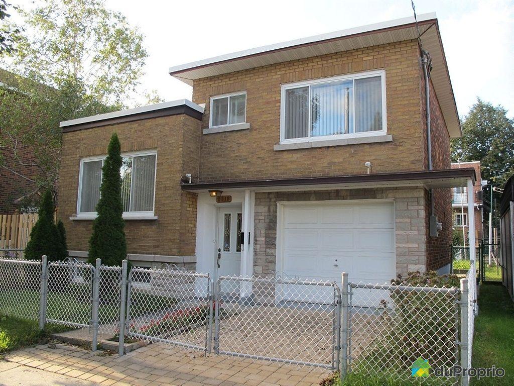 Maison vendre montr al 2310 rue de contrecoeur for Prix maison maisonneuve