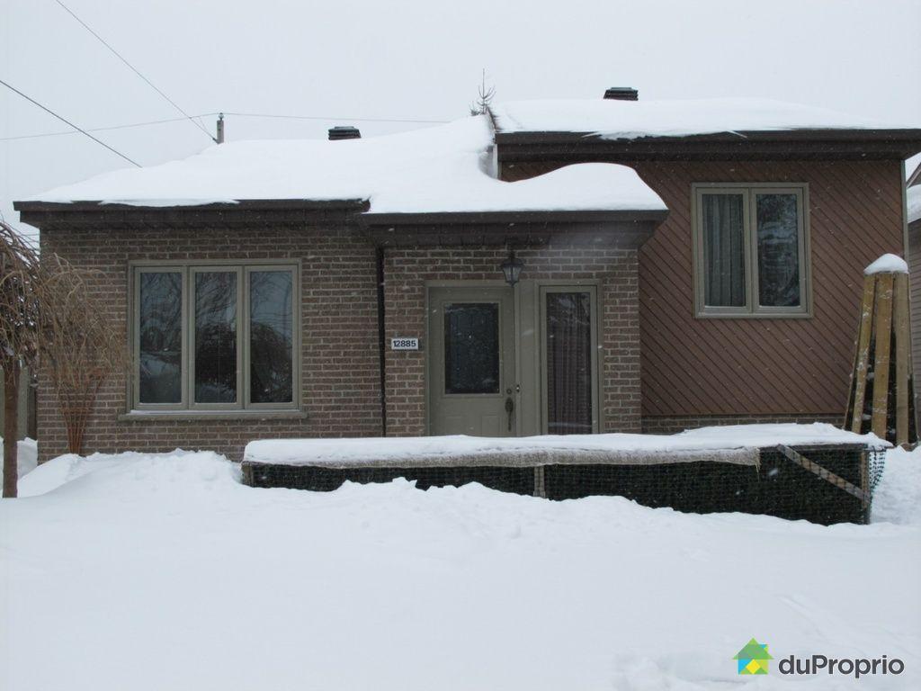 Maison vendu montr al immobilier qu bec duproprio 480108 for Alarme maison montreal