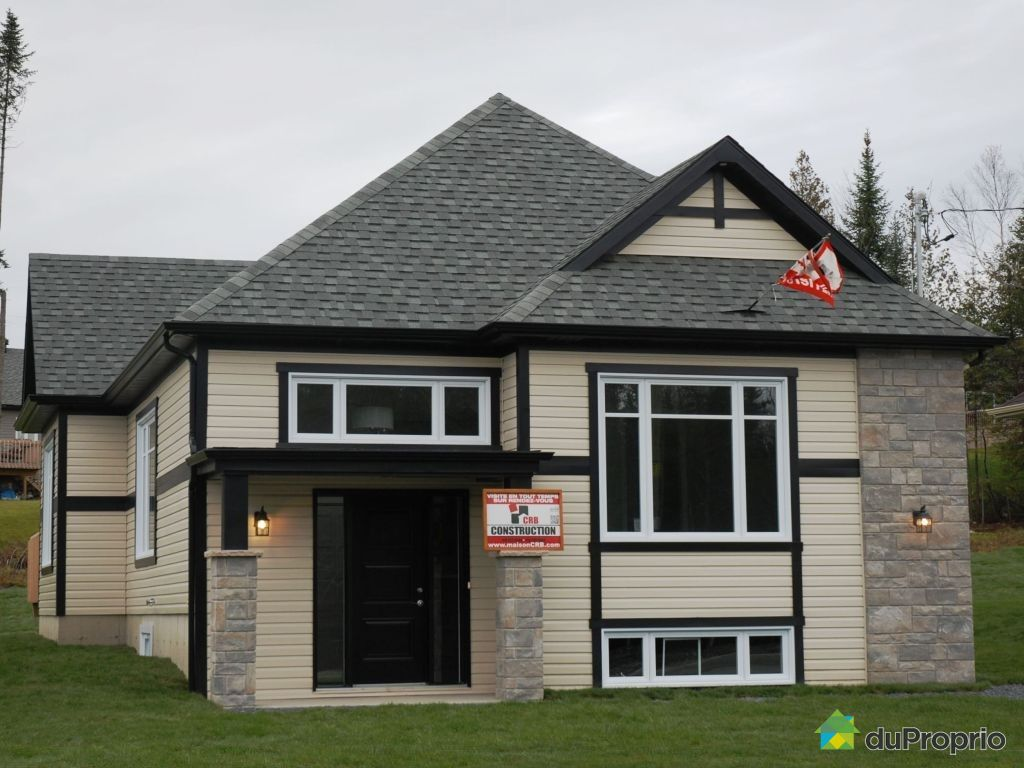 Maison neuve vendu st georges immobilier qu bec duproprio 404129 - Combien coute une facade de maison ...