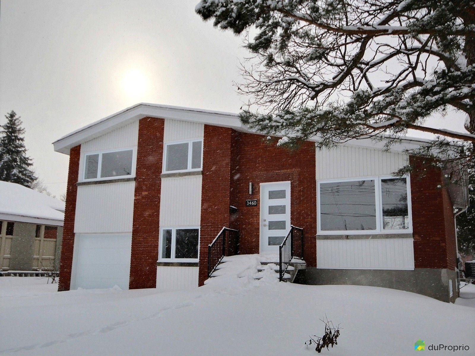 Maison vendu montr al immobilier qu bec duproprio 573225 for Acheter maison montreal canada