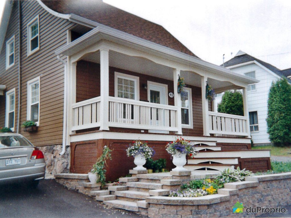 Maison vendu chicoutimi immobilier qu bec duproprio for Ajouter un etage a sa maison
