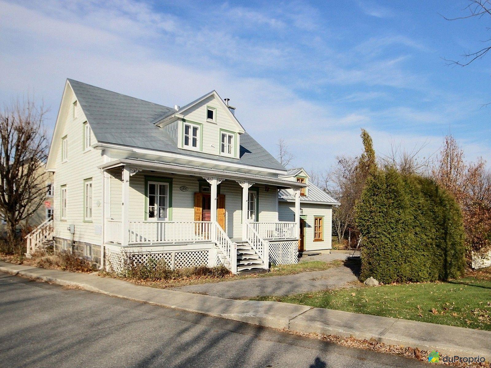 Maison vendu deschambault immobilier qu bec duproprio for Acheter un maison a montreal