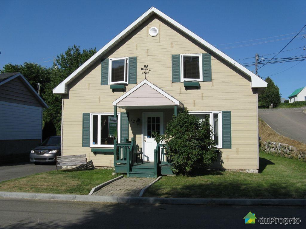 Maison vendu la malbaie immobilier qu bec duproprio for Ajouter un etage a sa maison