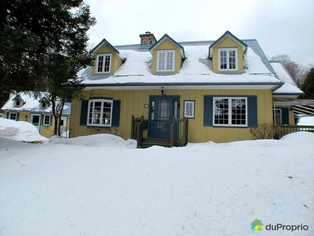 Maison vendu piedmont immobilier qu bec duproprio 369942 - Vendre sa maison a un promoteur ...