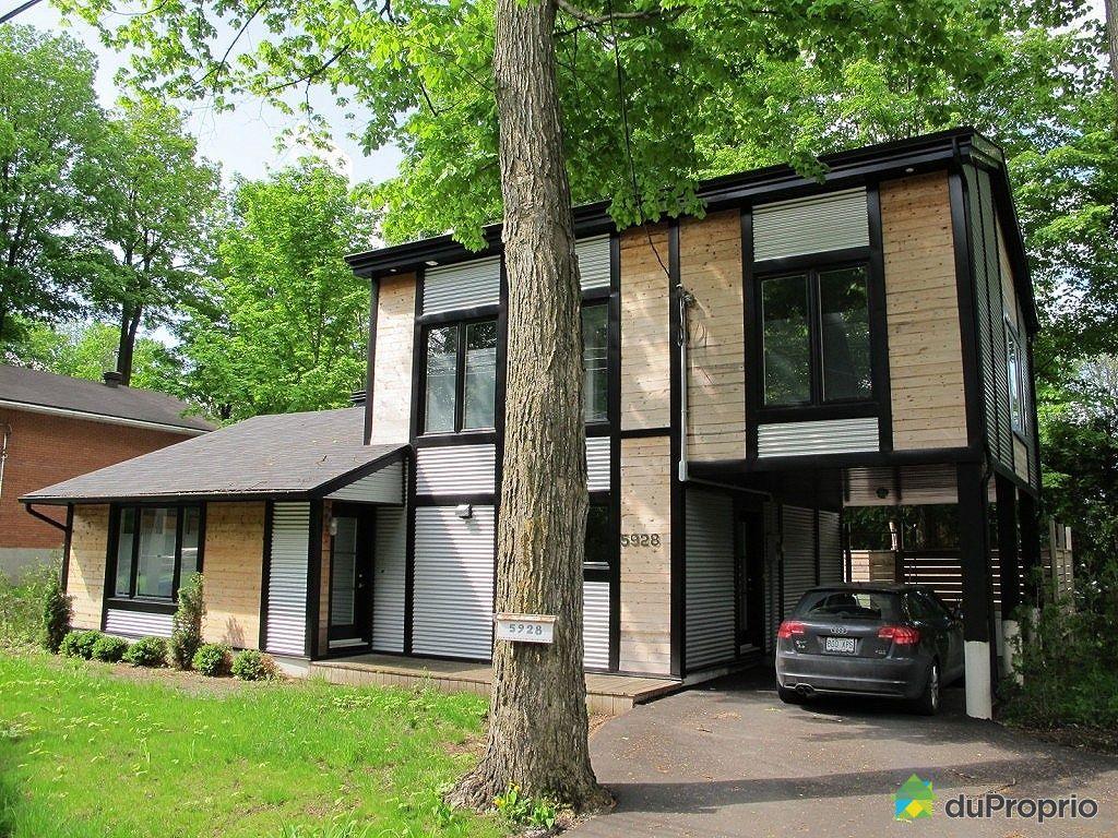Maison vendu montr al immobilier qu bec duproprio 334132 for Acheter un maison a montreal