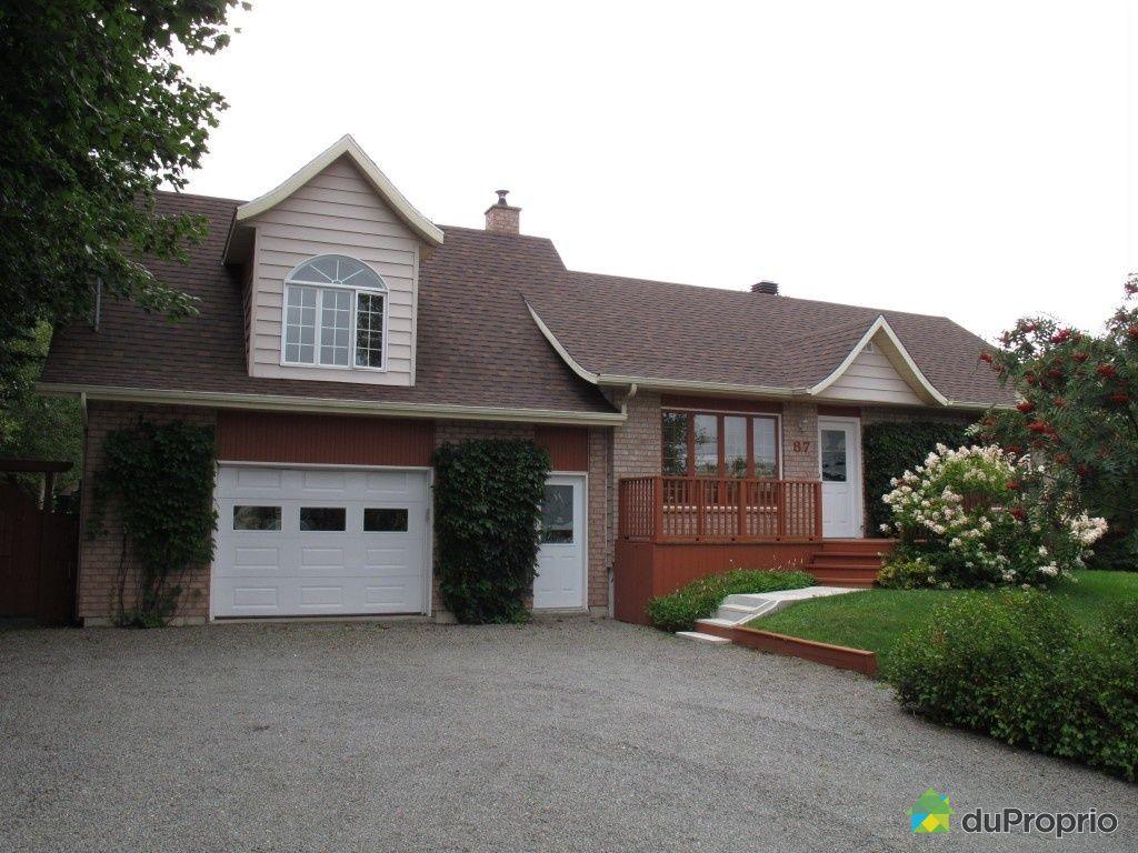 Maison vendu st anaclet de lessard immobilier qu bec duproprio 455450 - Vendre sa maison a un promoteur ...