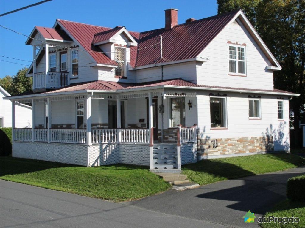 Maison vendu st benoit labre immobilier qu bec duproprio 456761 - Vendre sa maison a un promoteur ...
