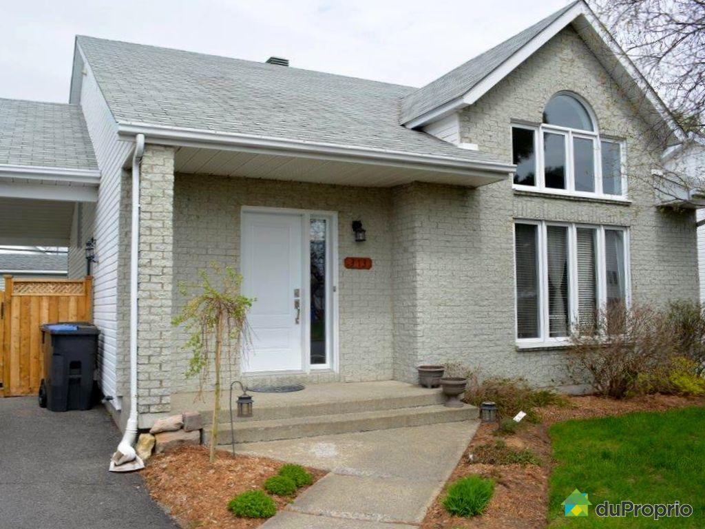 Maison vendu st jean sur richelieu 313 rue des for Porte et fenetre st jean sur richelieu