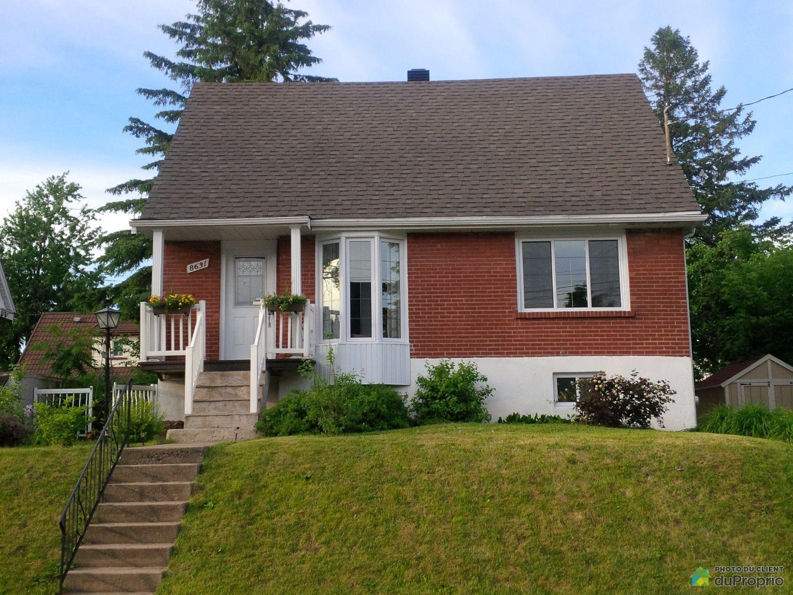 Maison vendre montr al 8631 23e avenue immobilier for Extension maison quebec