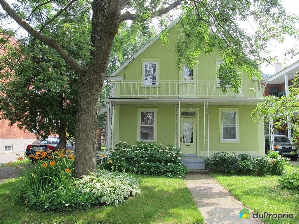10788 rue saint hubert ahuntsic cartierville vendre duproprio - Maison a vendre par le proprietaire ...