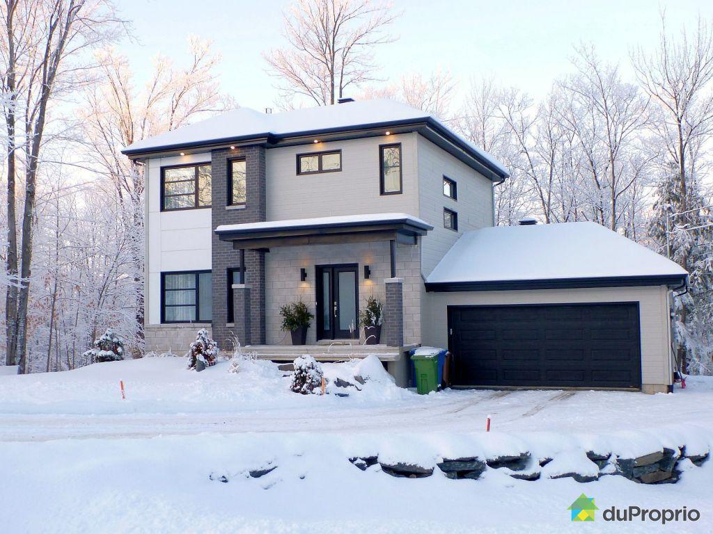 Maison vendu ascot corner immobilier qu bec duproprio 551132 - Combien coute une facade de maison ...