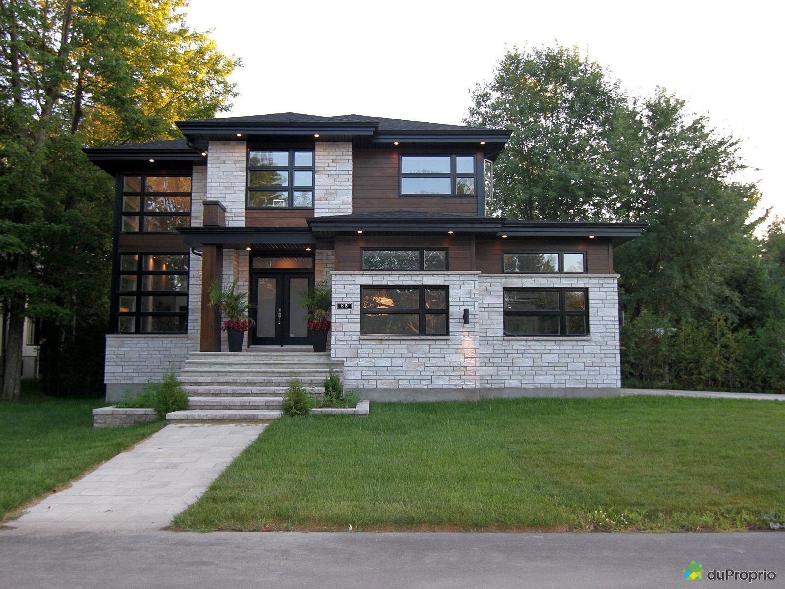 Maison moderne blainville avec des id es - Maison de ville moderne design klein ...