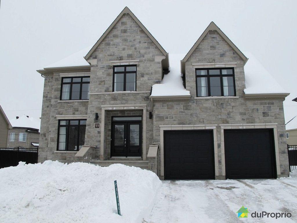 Maison vendu blainville immobilier qu bec duproprio 313292 - Combien coute une facade de maison ...