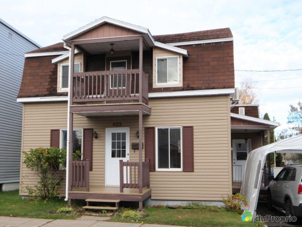 Maison vendre cap de la madeleine 405 rue notre dame for Achat maison la madeleine