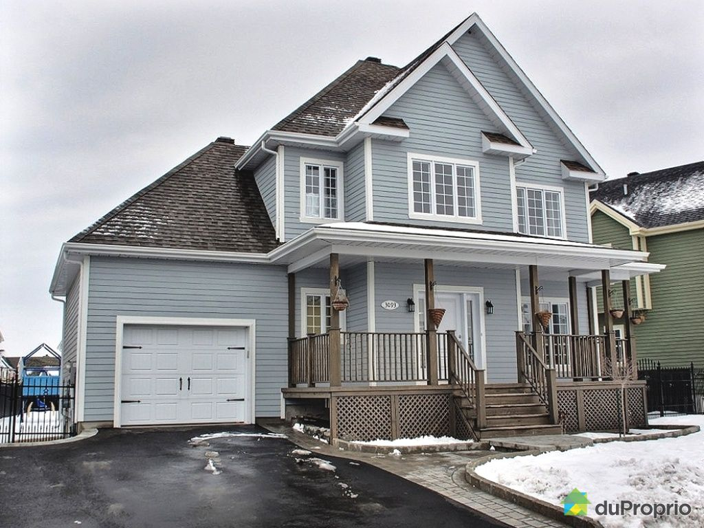 Maison vendu chambly immobilier qu bec duproprio 400151 for Acheter maison montreal canada