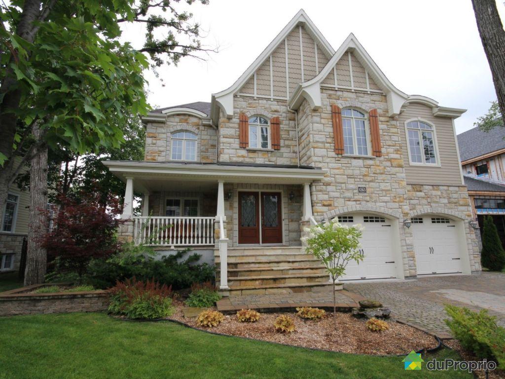 Maison vendre chambly 1265 rue de sabrevois immobilier for Achat de maison quebec