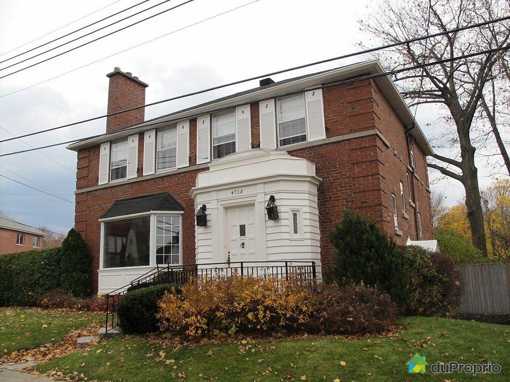 Maison vendu montr al immobilier qu bec duproprio 295396 for Acheter maison a montreal