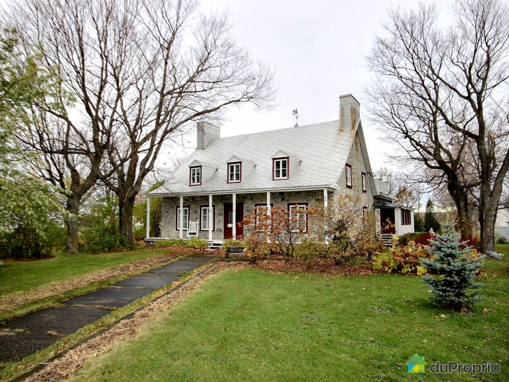 Maison vendre deschambault 200 chemin du roy for Achat de maison quebec