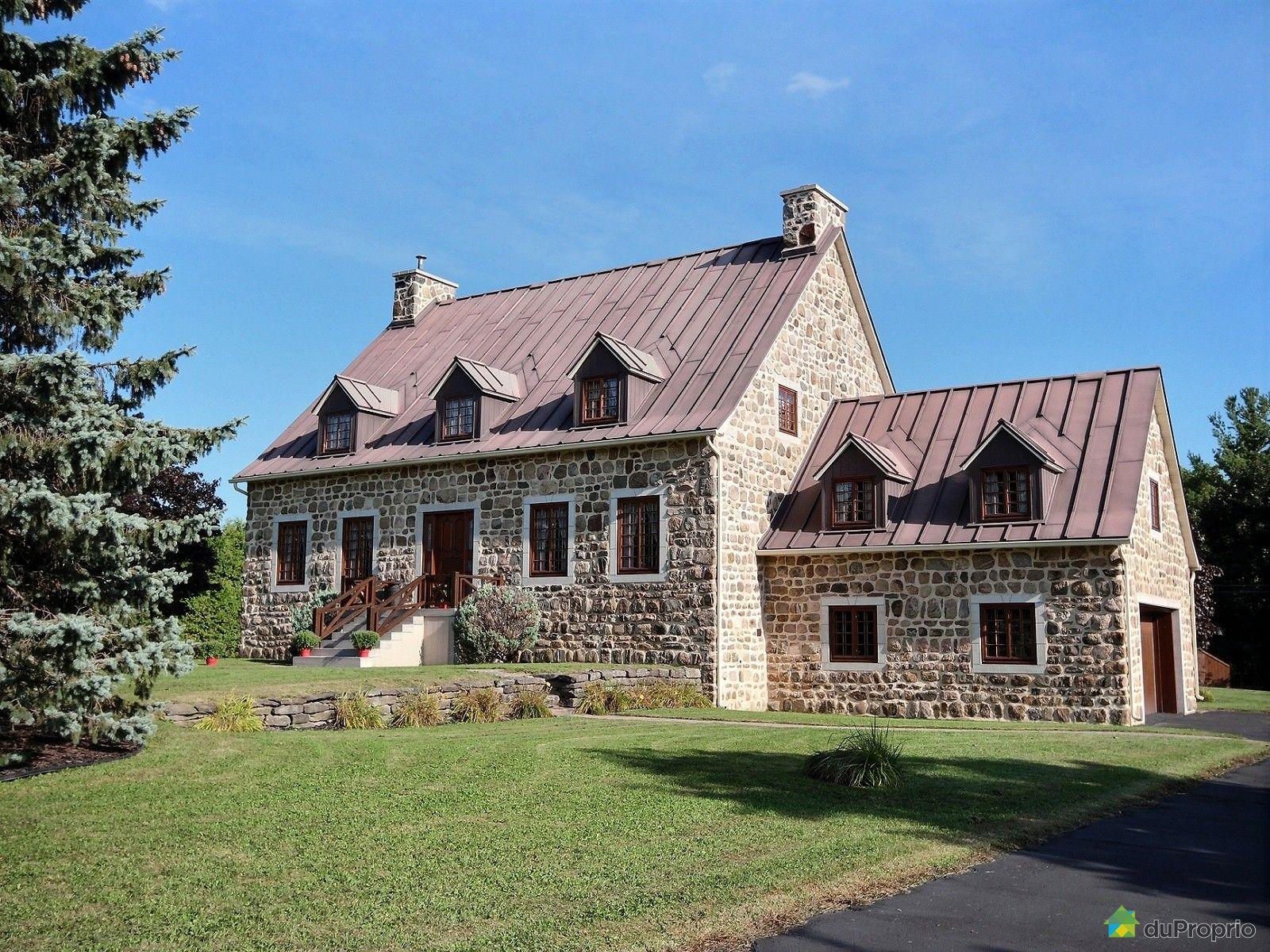 Maison vendre duvernay 3250 rang saint elz ar est for Architecture quebecoise