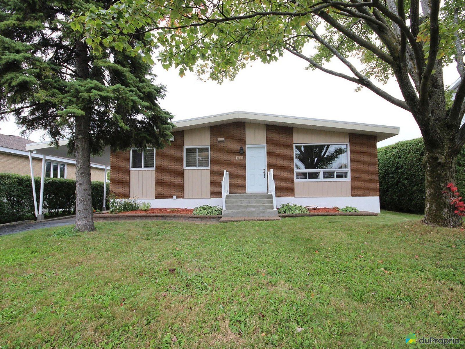 maison vendre fabreville 3892 rue nina immobilier. Black Bedroom Furniture Sets. Home Design Ideas