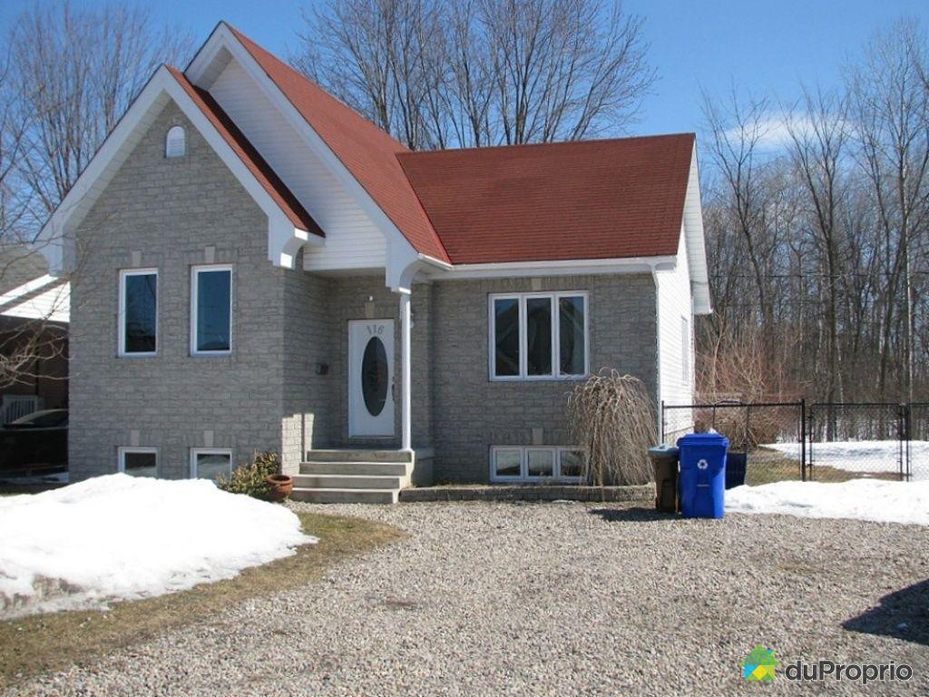 Maison vendu gatineau immobilier qu bec duproprio 241275 for Achat maison gatineau